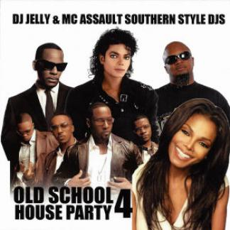 Old school house party 4 dj jelly mc assault mixtape for Classic house music mixtapes