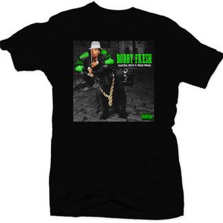 Bobby fresh walking with a fresh brand men 39 s t shirt for Fresh brand t shirts
