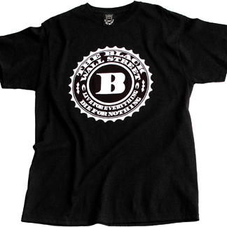Black Wall Street Clothing black wall street | the game - men's t-shirt