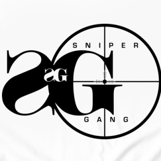 Sniper Gang Logo Men S T Shirt