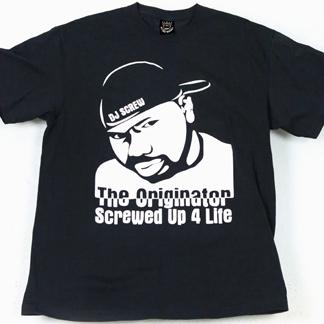 The originator screwed up 4 life r i p dj screw men for Built for war shirt