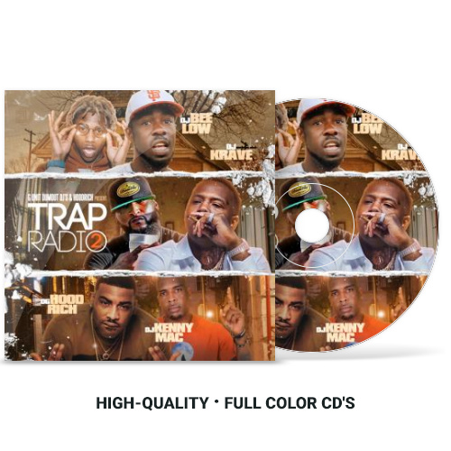 Trap Radio #2 | Various Artists - DJ Bee Low & DJ Kenny Mac Mixtapes