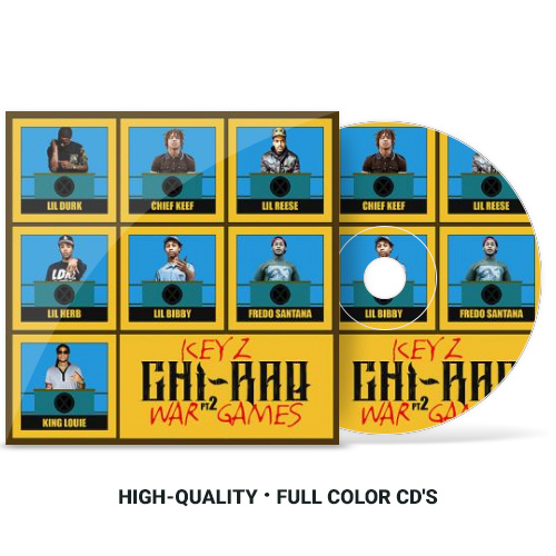Mixtape CD Showcase